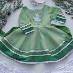 Well Dressed Wolf Prince of Peace Dress 2T